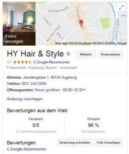 friseursalon google