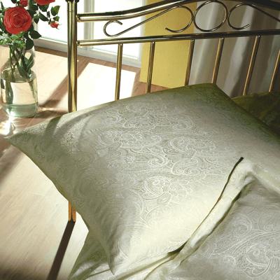 Kissenbezug aus Naturseide mit Paisleymuster